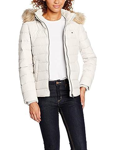 Hilfiger Denim Damen Jacke DW0DW00504, Schwarz (Black Beauty 003), 40 (Herstellergröße: L)