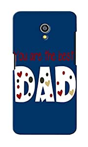 CimaCase You Are Best Dad Designer 3D Printed Case Cover For Micromax Canvas Fire 4G Q411