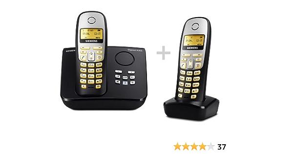 Siemens Gigaset A265 Duo Schnurloses Dect Telefon Mit Elektronik
