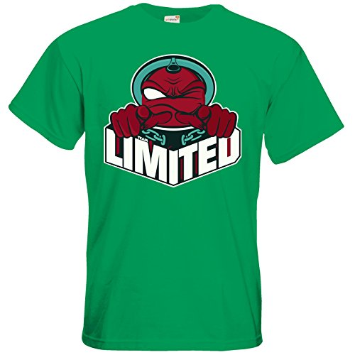 getshirts - Rocket Beans TV Official Merchandising - T-Shirt - Team Limited Logo Kelly Green