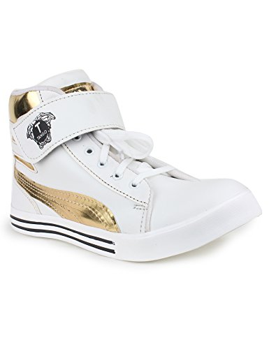 Appe Men's White Synthetic casual shoes:APPE-0017WHITE-6