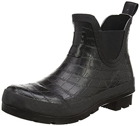 Joules U_crockingtnbob, Women's Ankle length Rain Boots, Black (Black), 6 UK (39 EU)
