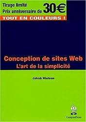 Conception de sites Web: L'art de la simplicité