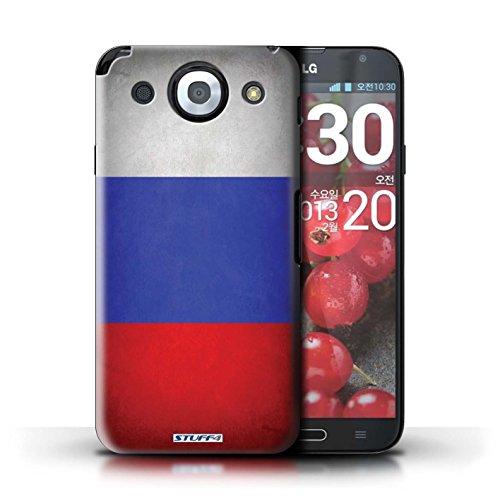 Kobalt® Imprimé Etui / Coque pour LG Optimus G Pro / Pays-Bas conception / Série Drapeau Russie