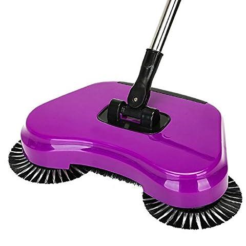 GAOJIAN Mop Broom 360 Rotary Home Use Magic Manual Balai de poussière de sol télescopique avec poignée réglable