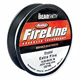 Abalorios hilo FireLine 4 lbs - cristalina 0,15 mm (, 006in) - 114 m