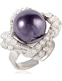D&D-Monili di modo Anelli a Fascia Anelli componibili Anelli per Stemma Anelli Statement - Signora Pearl Ring Ring