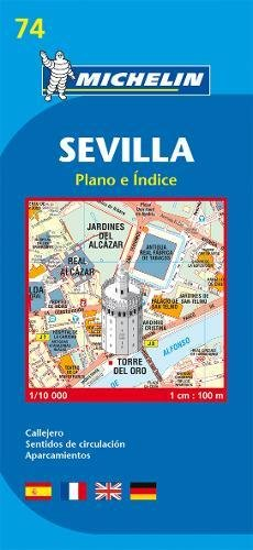 Plan Michelin Seville par Cartographia