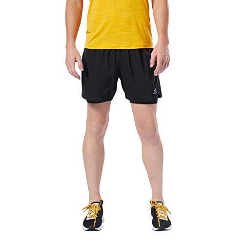 Reebok Re 2-1 Short Pantalón Corto