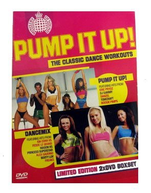 Ministry Of Sound 'Pump It Up' The Classic Dance Workouts Limited Edition DVD Boxset (Includes 'Pump It ) Classic Pump