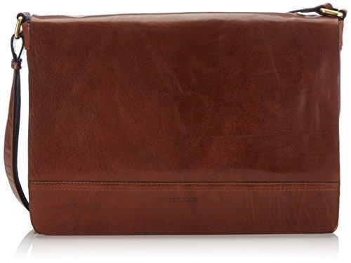 Gerry Weber Lugano Flap Bag L 4080002893 Damen Umhängetaschen 35x24x8 cm (B x H x T), Braun (cognac 703) -