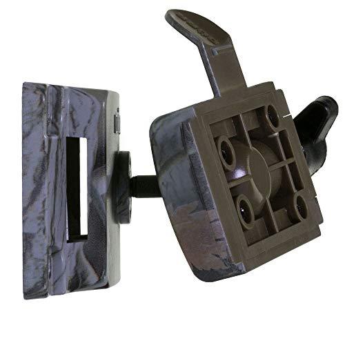 Haltesystem für DÖRR Wild- und Überwachungskameras SnapShot Multi, camouflage (Mit optionalem DÖRR Uni-1 Universaladapter passend für alle herkömmlichen Kameras mit 1/4 Zoll Anschlussgewinde)