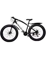 Fat Tyre Bicycle 26 Inch Black Love Freedom