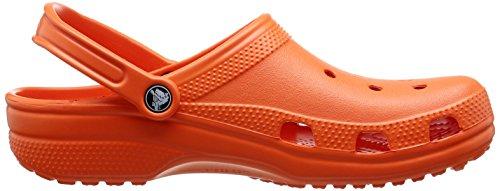 Crocs Classic, Zoccoli Unisex – Adulto Rosso (Tangerine)