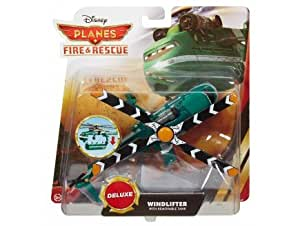 Disney planes : hélicoptère vert windlifter n°bdb97 - cars