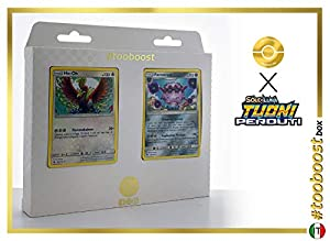 Ho-Oh 160/214 Y Forrestress 124/214 - #tooboost X Sol E & Luna 8 Tuoni Perduti Box de 10 Cartas Pokémon Italiano + 1 Goodie Pokémon
