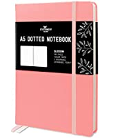 Stationery Island Cuaderno Punteado A5 – Rosa. Bullet Journal de Tapa Dura Con 180 Páginas y Papel Premium de 120gsm