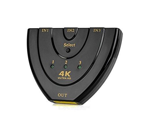 Galleria fotografica Full HD 4K HDMI Switch/Distributore, imountop automatica/3Port   3d Ready fino a 1080p   3Port Commutatore