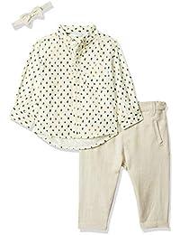MINI KLUB Baby Boy's Cotton Clothing Set (Pack of 3)