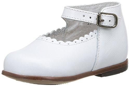 Little Mary Miloto, Chaussures Premiers pas bébé garçon, Gris (Vachette Etain), 19 EU (3-9 months Bébé UK)