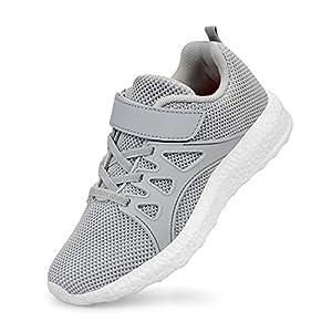 ZOCAVIA Unisex-Kinder Fitnessschuhe Sportschuhe Laufschuhe Sneaker