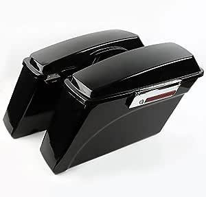 Seitenkoffer Für Harley Davidson Electra Glide Ultra Limited Flhtk 09 13 Schwarz Auto