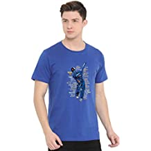 Fully Filmy Legend of Dhoni Round Neck Cotton Unisex T-Shirt