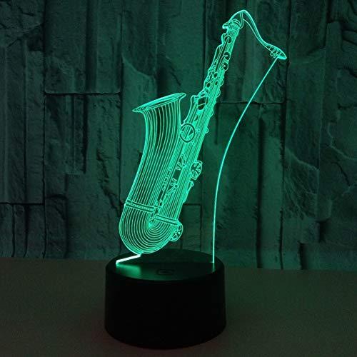 Zyue 3D Geschenk Custom Nightlight Remote Touch Switch 7 Farbwechsel 3D-Leuchten,Berührungsschalter (Custom Remote)