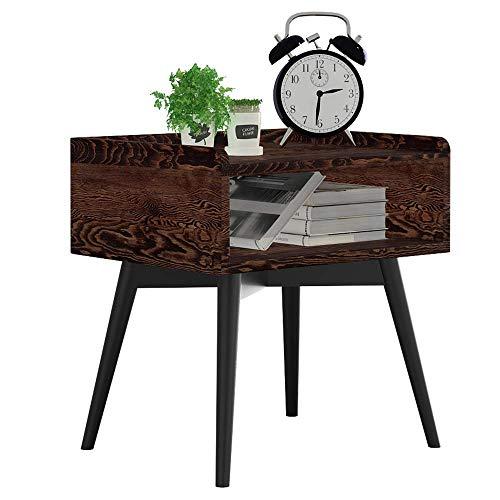 Home Beistelltische Nordic Massivholz Kreative Nachttisch Möbel Japanischen Stil Einfachen Holztisch Kleinen Couchtisch Computer Ecktisch, BOSS LV, c