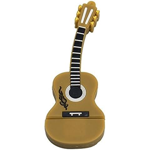 FEITONG Chiavetta USB Flash a forma di chitarra (32,