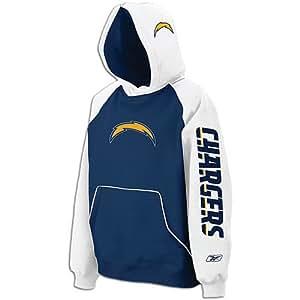 Reebok NFL San Diego Chargers Mens Sweatshirt Hoodie