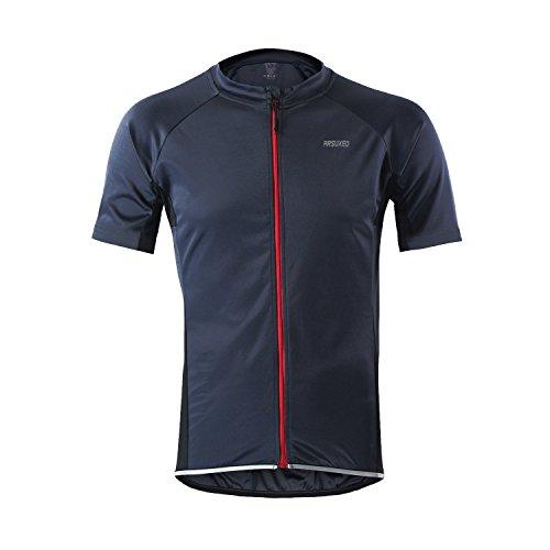 M.Baxter Fahrradtrikot Kurzarm Herren Fahrrad Trikot Funktionsshirt Sportshirt Bike T-shirt Fahrradbekleidung Radsport Kurzarmshirt für Frühling und Sommer