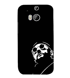 FUSON French Actor 3D Hard Polycarbonate Designer Back Case Cover for HTC One M8 :: HTC M8 :: HTC One M8 Eye :: HTC One M8 Dual Sim :: HTC One M8s