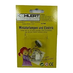 Kahlert Licht 10345 - Accesorios para minimuñecas, Color Blanco y Negro