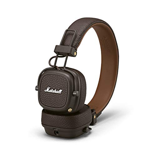 Marshall Major III Bluetooth Wireless On-Ear Headphones (Brown) Image 5