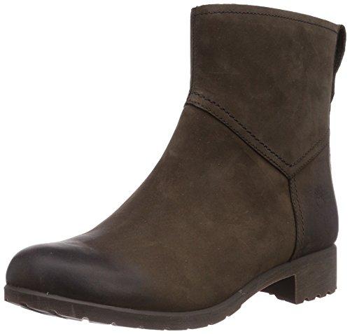 Timberland  Putnam FTW_EK Putnam Zip Ankle WP Boot, bottes chelsea femme Marron - Braun (Dark Brown Nubuck)
