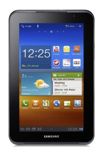 Samsung Galaxy Tab P6201 7.0 Plus N Tablet (17,8 cm (7 Zoll) PLS Touchscreen, 1,2GHz Dual Core Prozessor, 1GB RAM, 16GB Speicher, Android 3.2, UMTS) grau (Tablet Galaxy Samsung Plus)