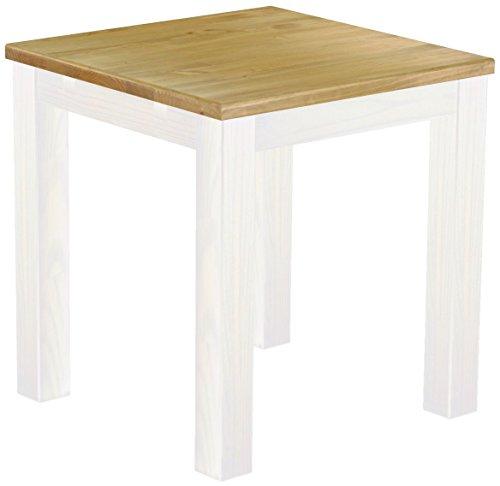 Brasilmoebel® Esstisch Rio Classico Pinie Massivholz in 27 Größen und 50 Farben – über 1000