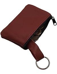 Echt Leder Schlüsseltasche 1 Fach MJ-Design-Germany Made in EU in Schwarz oder Rot
