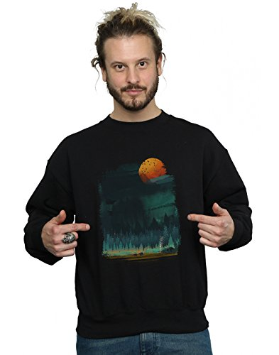 Absolute Cult Dan Dingeroz Herren National Parks Sweatshirt Schwarz XX-Large -