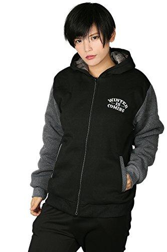 Herren Pullover Winter Hoodie Cosplay Kostüm Dick Plus Samt Pulli Sweatshirt Kleidung Mantel Jacke für (Cosplay Arya Kostüm)