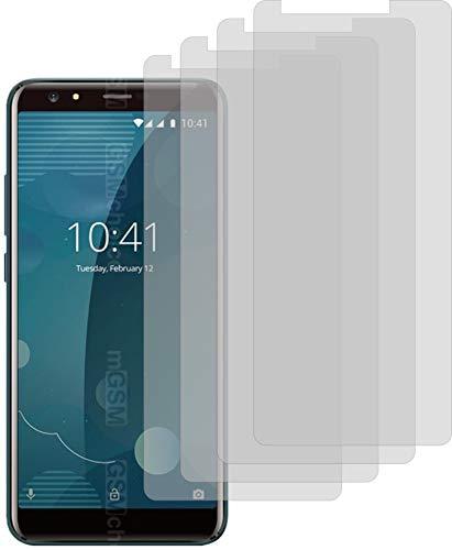 4X Crystal Clear klar Schutzfolie für Allview P10 Pro Bildschirmschutzfolie Displayschutzfolie Schutzhülle Bildschirmschutz Bildschirmfolie Folie
