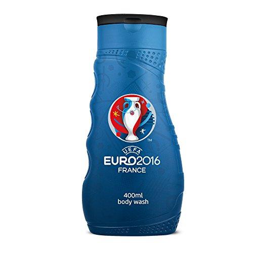 UEFA Euro 2016 Gel Douche Bleu 400 ml