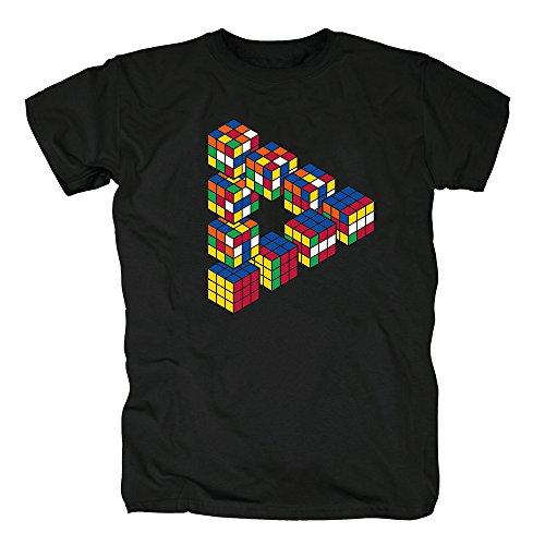 TSP Escher Zauberwürfel T-Shirt Herren XL ()