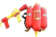 Idea Regalo - Idena 8040009 - Pistola ad acqua, con serbatoio a forma di estintore, ca. 40 cm
