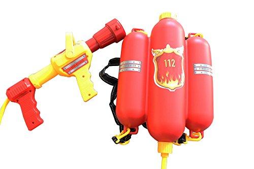 feuerwehrmann sam tankrucksack Idena 8040009 - Feuerwehr Wasserspritze, ca. 40 cm