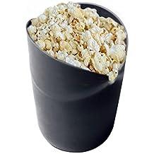 Microondas palomitas de maíz eléctrica, AOLVO silicona palomitas de maiz poppers no aceite plegable palomitas