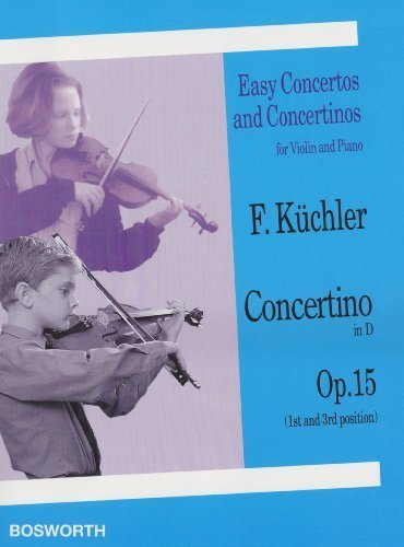 CONCERTINO IN D OP 15 EASY CONCERTOS AND CONCERTINOS FOR VLN AND PNO (2003-12-01)