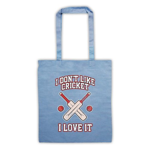 I Don't Like Cricket, I Love It-Borsa Azzurro