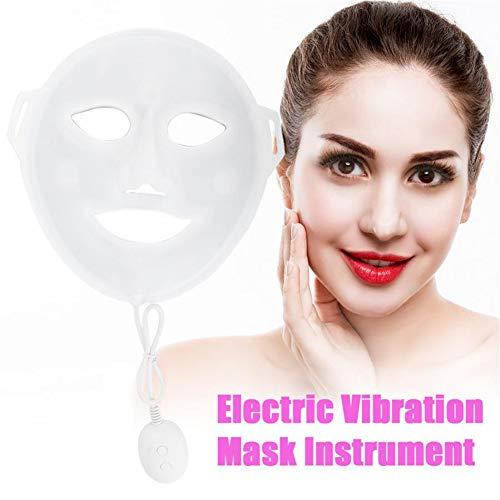 MOMASK LED Gesichtsmaske 3 Farbe Maske Photon Licht Therapie Gesichts Haut Pflege System Instrument Zum Gesundheit, Haut Lichtbehandlung, Antialterung Festziehen, Tonen Falten, Akne Behandlung -